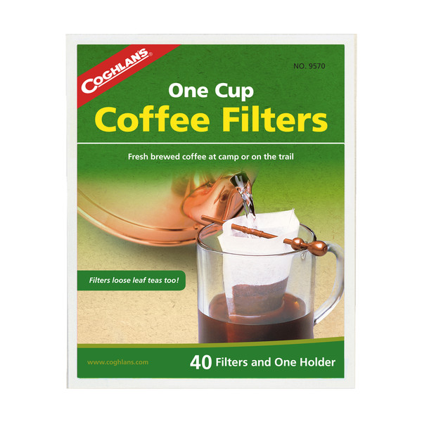Coghlans Kaffee-Filtertüten mit Halter