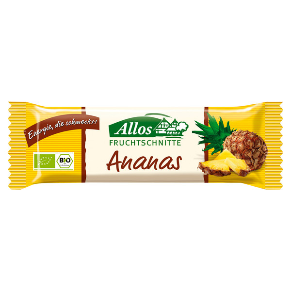Allos Ananas Schnitte - Müsliriegel