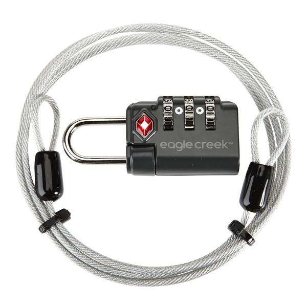 Eagle Creek TSA Diallock & Cable - Gepäcksicherung