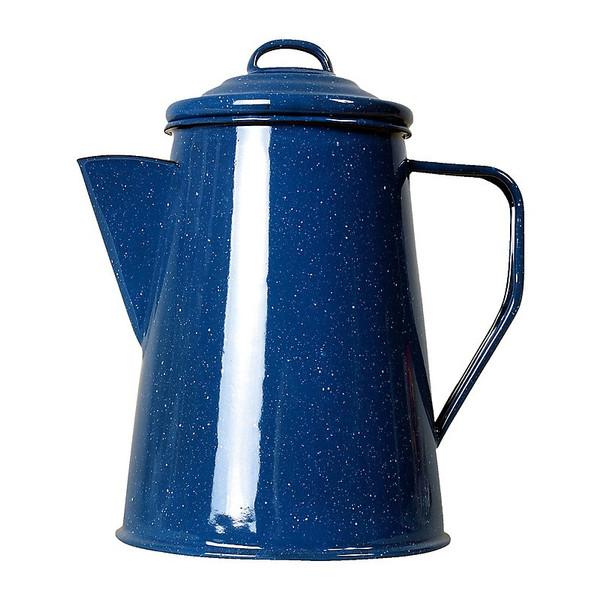 Relags Emaille Kaffeekanne - Campinggeschirr
