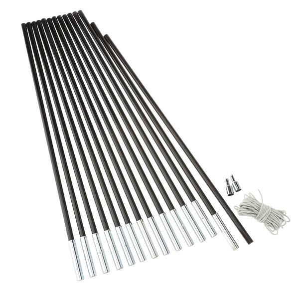 Outdoor International Fibreglass Pole Kit 9,5 - Zeltstangen