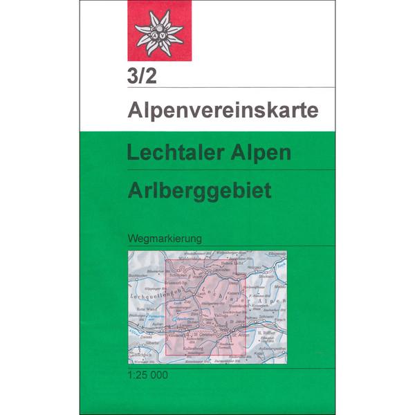 DAV 3/2 Weg Lechtaler Alpen Arlberg