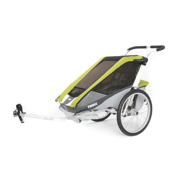 Thule Chariot Cougar 1 avocado/grau/silber - Fahrradanhänger