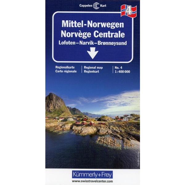 KuF Norwegen 04 1 : 400 000