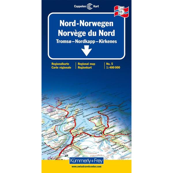 KuF Norwegen 05 1 : 400 000
