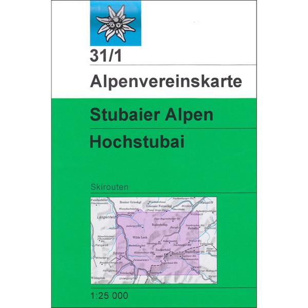 DAV 31/1 Ski Stubaier Alpen - Hochstubai