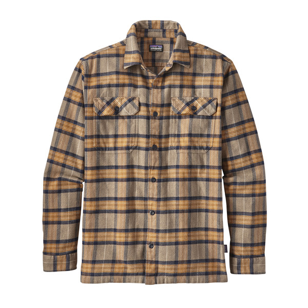 Patagonia M' S L/S FJORD FLANNEL SHIRT Herr