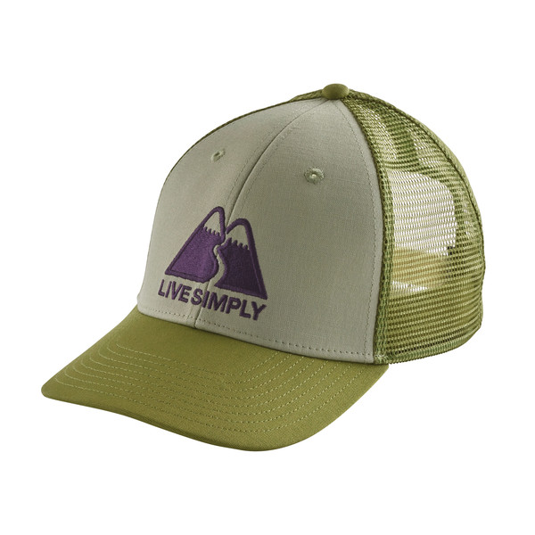 Patagonia LIVE SIMPLY WINDING LOPRO TRUCKER HAT Unisex