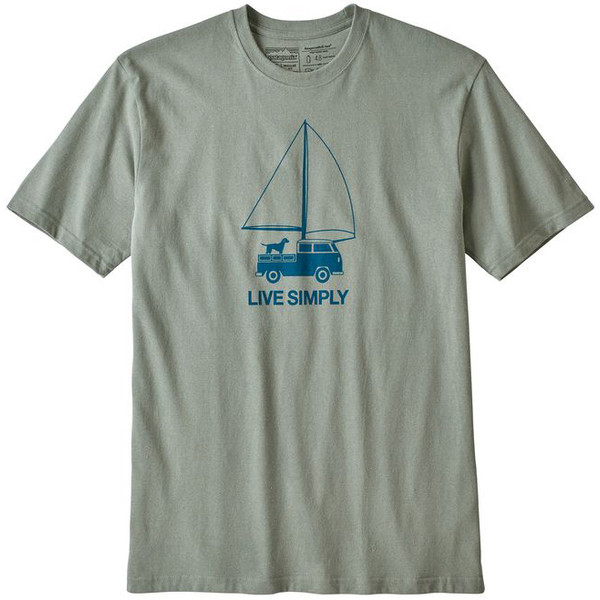 Patagonia M' S LIVE SIMPLY WIND POWERED RESPONSIBILI-TEE Herr