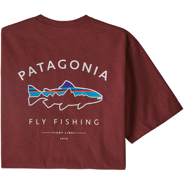 Patagonia M' S FRAMED FITZ ROY TROUT RESPONSIBILI-TEE Herr
