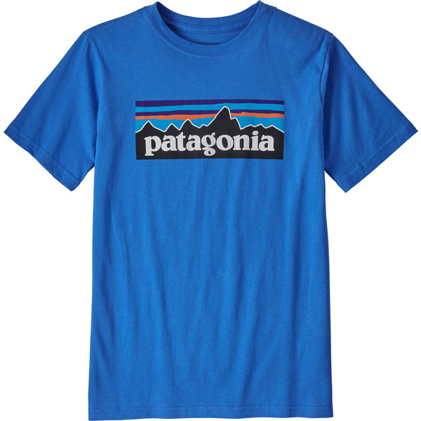 Patagonia KIDS P-6 LOGO ORGANIC T-SHIRT Barn