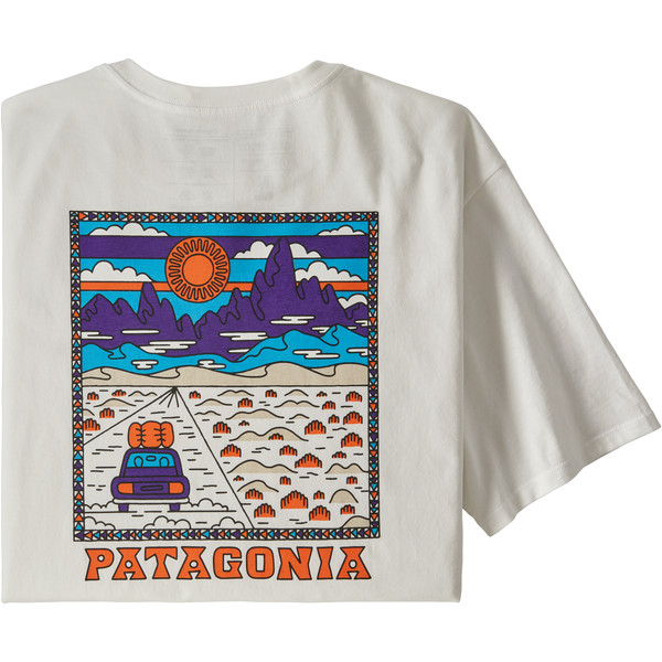 Patagonia M' S SUMMIT ROAD ORGANIC T-SHIRT Herr