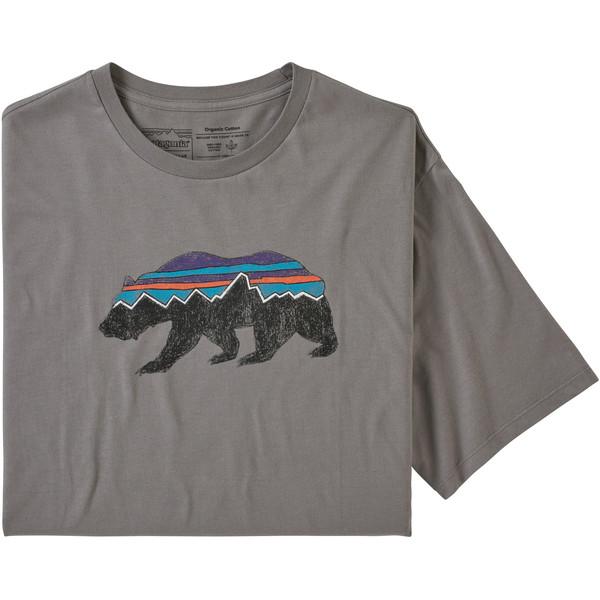 Patagonia M' S FITZ ROY BEAR ORGANIC T-SHIRT Herr