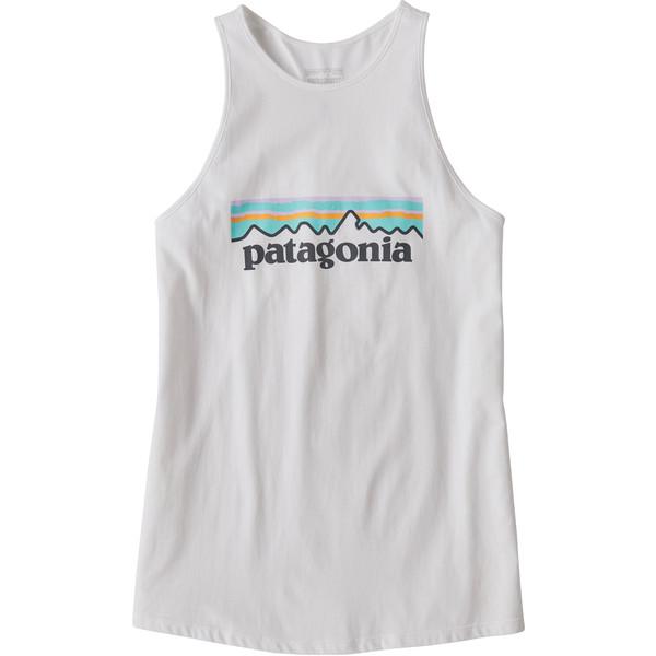 Patagonia W' S PASTEL P-6 LOGO ORGANIC HIGH NECK TANK Dam