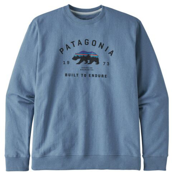 Patagonia M' S ARCHED FITZ ROY BEAR UPRISAL CREW SWEATSHIRT Herr