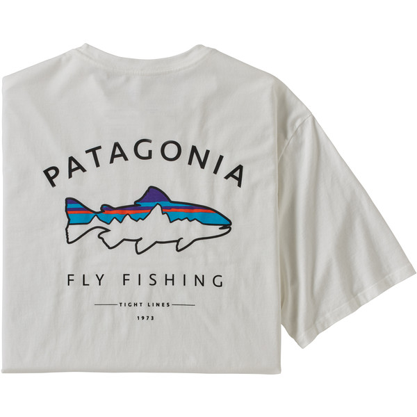 Patagonia M' S FRAMED FITZ ROY TROUT ORGANIC T-SHIRT Herr