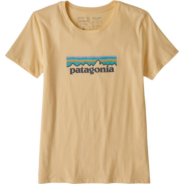 Patagonia W' S PASTEL P-6 LOGO ORGANIC CREW T-SHIRT Dam
