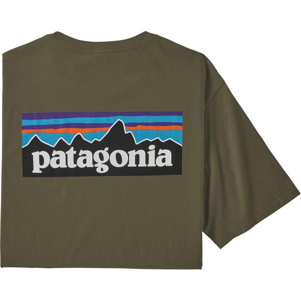 Patagonia M' S P-6 LOGO ORGANIC T-SHIRT Herr