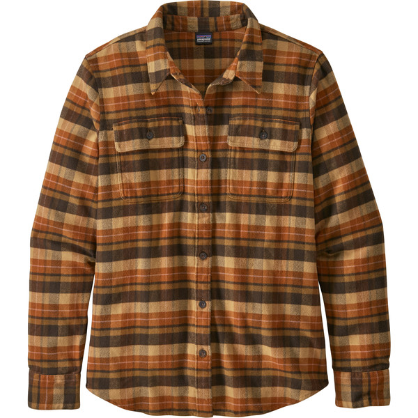 Patagonia W' S L/S FJORD FLANNEL SHIRT Dam