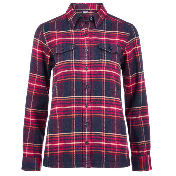 Patagonia L/S Fjord Flannel Shirt Frauen - Outdoor Bluse