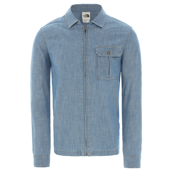 The North Face M L/S BERKELEY CHAMBRAY SHIRT Herr