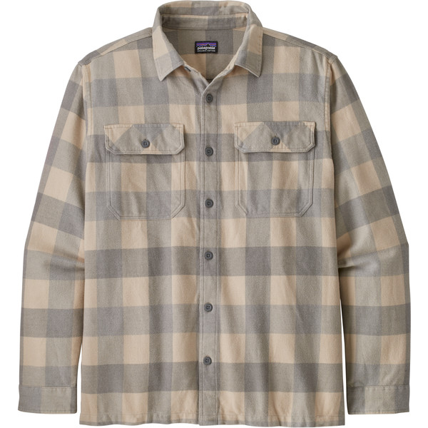 Patagonia M' S L/S NATURAL DYE FJORD FLANNEL SHIRT Herr