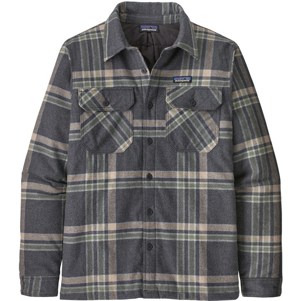 Patagonia M' S INSULATED ORGANIC COTTON MW FJORD FLANNEL SHIRT Herr