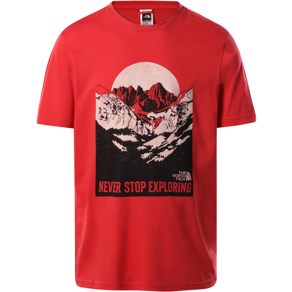 The North Face M S/S NATURAL WONDERS TEE Herr