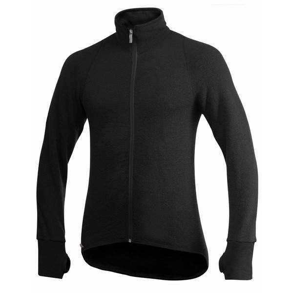 Woolpower FULL ZIP JACKET 400G MED TUMGREPP Unisex