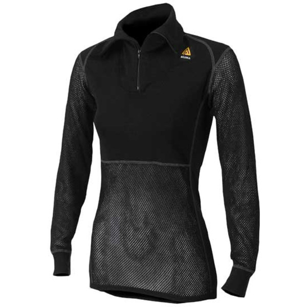 Aclima WOOLNET POLO SHIRT WITH ZIP WOMAN Dam