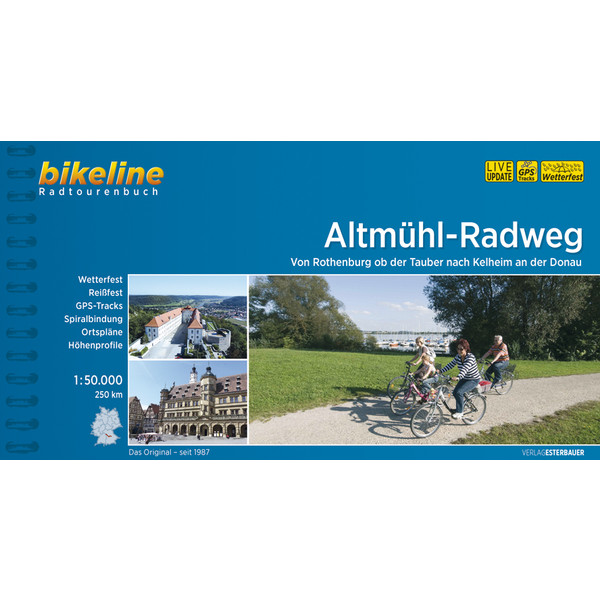 Bikeline Altmühl-Radweg