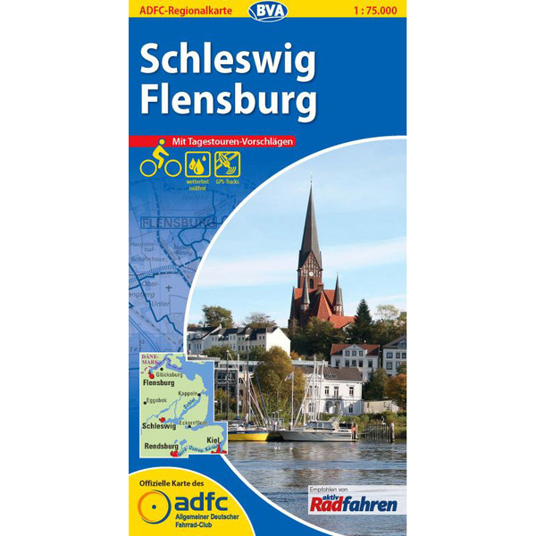 ADFC 1:75 000 Schleswig / Flensburg