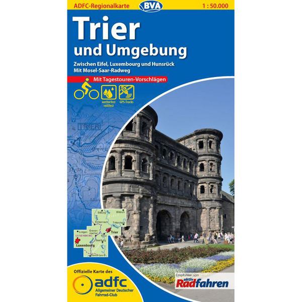 ADFC 1:75 000 Trier und Umgebung