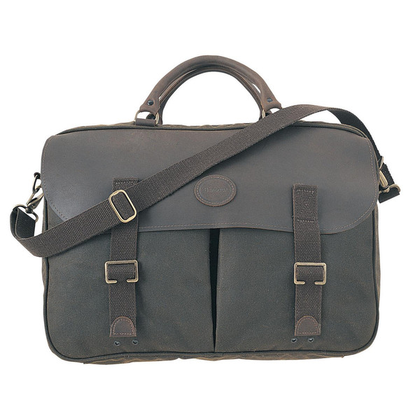 Barbour WAX LEATHER BRIEFCASE Unisex