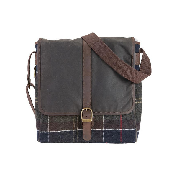 Barbour TARTAN MAIL BAG Unisex