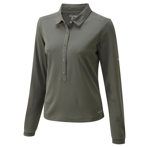 Craghoppers NOSILIFE KEISHA LONG SLEEVED POLO Dam