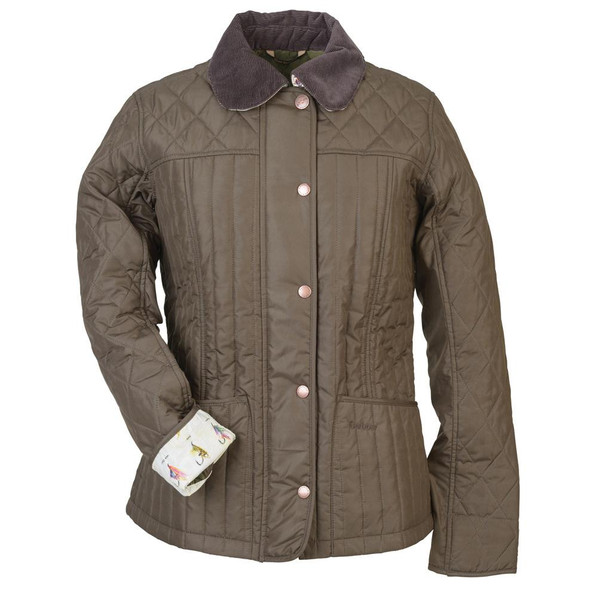 Barbour RIBBLE QUILT JACKET Dam
