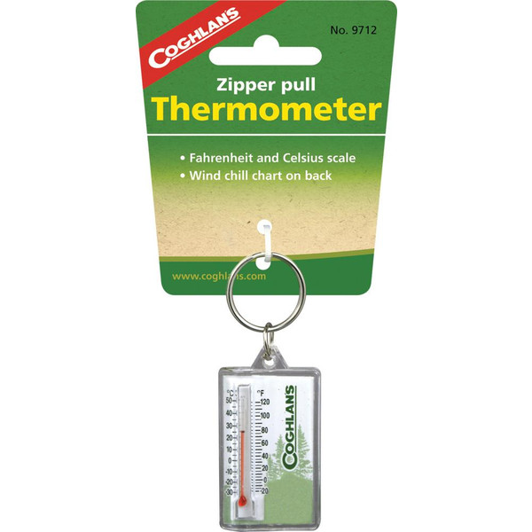 Coghlan' s ZIPPER PULL THERMOMETER