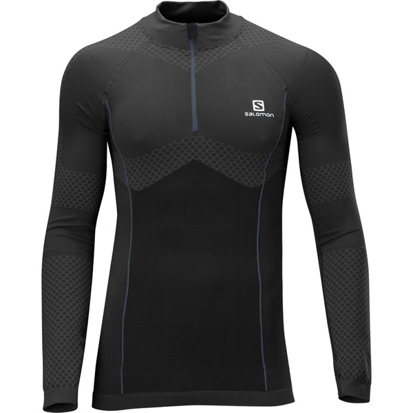 Salomon EXO MOTION LS ZIP TEE M Herr