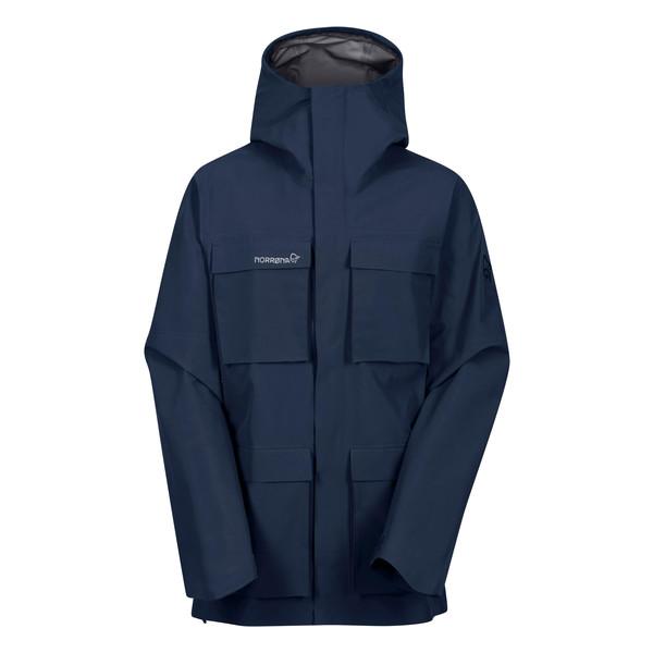 Norrøna Svalbard Gore Tex Jacket Herr indigo night