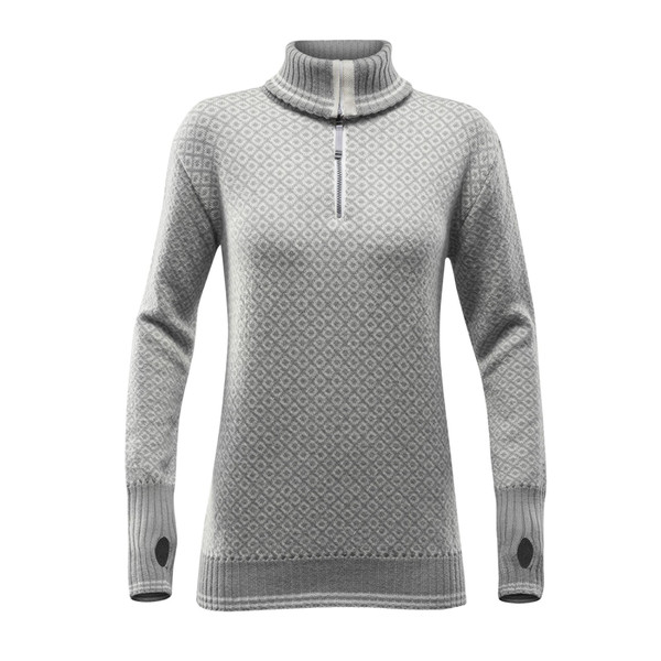 Devold SLOGEN WOMAN ZIP NECK Dam