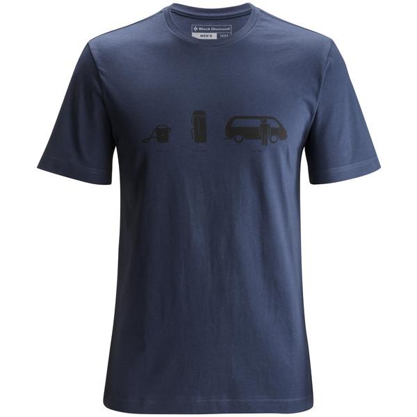 Black Diamond M SS DIRTBAG TEE Herr - T-shirt