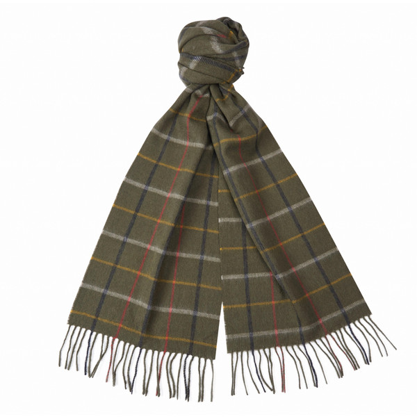 Barbour COUNTRY TATTERSALL SCARF Unisex
