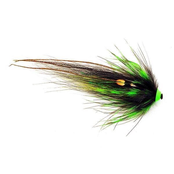 Frodinflies NOBODY SERIES - BLACK GREEN HELMET 6 CM