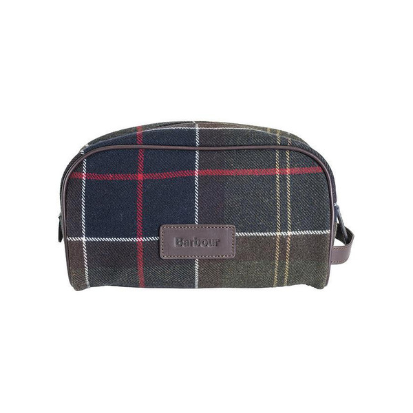 Barbour TARTAN WASHBAG Unisex