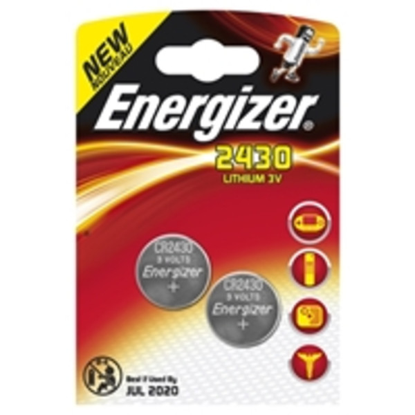 Energizer BUTTON 2430 3V 2-PACK