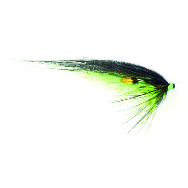 Frödin flies MICRO SERIES - BLACK GREEN HELMET 1.5 CM