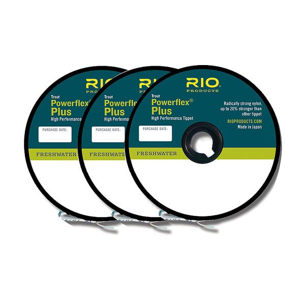 Rio POWERFLEX PLUS TIPPET 3PACK