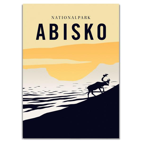 Naturkompaniet ABISKO NATIONALPARK POSTER