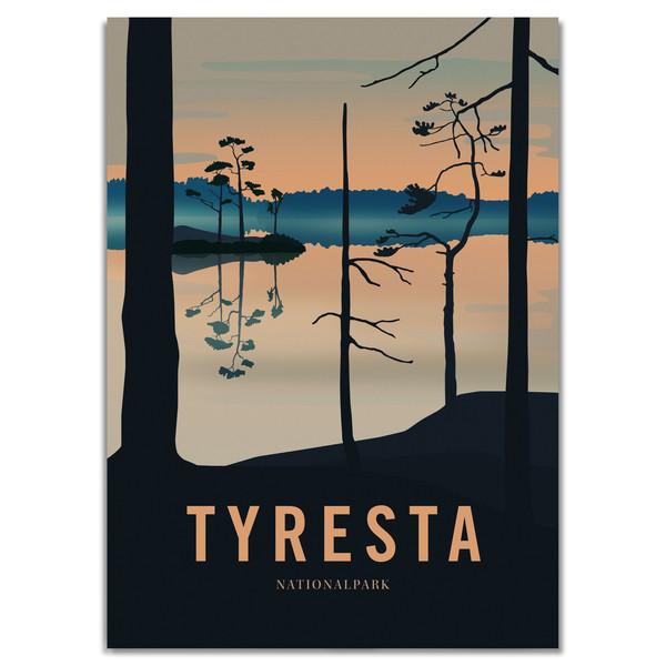 Naturkompaniet TYRESTA NATIONALPARK POSTER